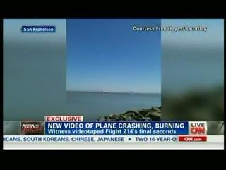 Raw Video: Fred Hayes Video of Asiana Flight 214 Crash view on ebaumsworld.com tube online.