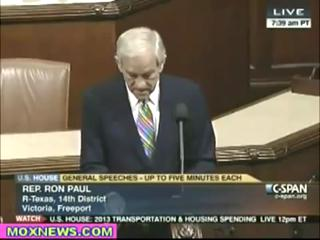 RON PAUL- STOP GIVING WEAPONS TO TERRORISTS IN SYRIA view on ebaumsworld.com tube online.