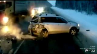 Baby Girl Flung From Car In Accident view on ebaumsworld.com tube online.