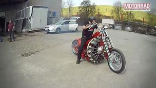 German builds Bike with an Aircraft Engine!! view on ebaumsworld.com tube online.