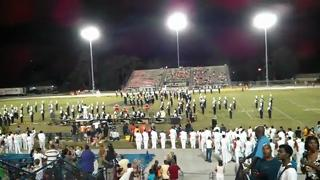 Lightning Strike and the Band Marches on,Football Team... view on ebaumsworld.com tube online.