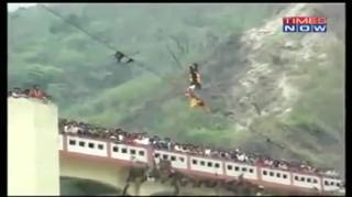 Stuntman Dies On Live TV While Attempting World Record view on ebaumsworld.com tube online.