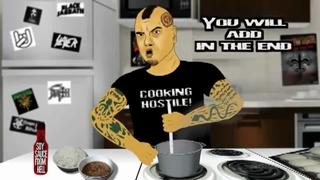 Cooking Hostile! with Phil Anselmo view on ebaumsworld.com tube online.