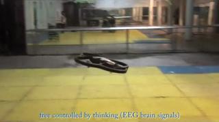 Handicapped controls Quadrotor with Brain view on ebaumsworld.com tube online.