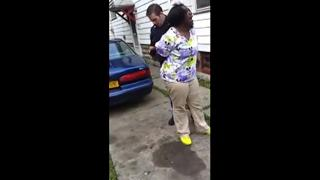 Police Punch Pregnant Woman and Bodyslam Her to the Ground view on ebaumsworld.com tube online.