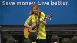 Jewel Performs the Walmart Song view on ebaumsworld.com tube online.