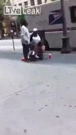 Lady Tries To Rob Woman in Wheelchair view on ebaumsworld.com tube online.