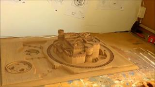 Wooden Game Of Thrones Castle, Very Cool view on ebaumsworld.com tube online.