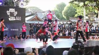 Incredible Japanese Kids Break Dance Like Ninjas! view on ebaumsworld.com tube online.