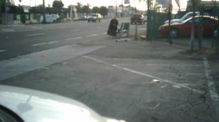 Old lady pulls dead dog out of road after a hit and run view on ebaumsworld.com tube online.