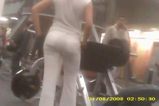 Gym Booty Columbian woman view on ebaumsworld.com tube online.