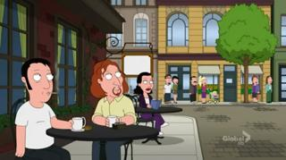 Family Guy - French Sirens like Gay Guys having a Threesome view on ebaumsworld.com tube online.