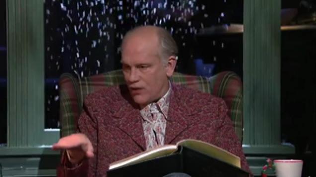 twas the night before christmas read by john malkovich feels video ebaums world - John Malkovich Snl Christmas