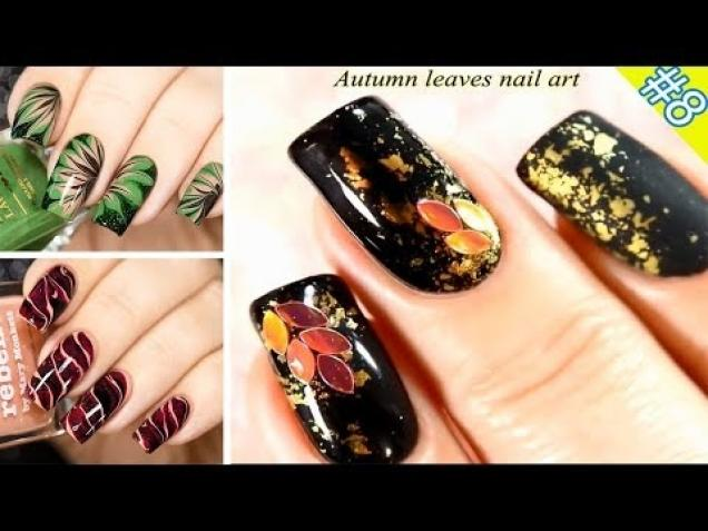 Hot nail art designs october 2017 love you creepy video autumn nail art designs october 2017 prinsesfo Gallery