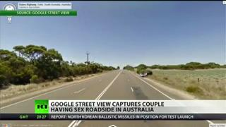 Google Street View Captures Couple Having Sex view on ebaumsworld.com tube online.