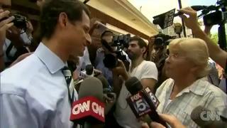 Anthony Weiner gets schooled by Retired Teacher Peg Brunda view on ebaumsworld.com tube online.
