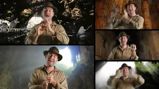 One Man A Cappella Indiana Jones Theme Cover view on ebaumsworld.com tube online.