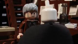 LEGO Voldemort Meets Gandalf While Wand Shopping view on ebaumsworld.com tube online.