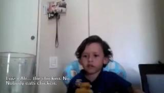 Boy Explains To Mom Why He Doesn't Want To Eat Octopus view on ebaumsworld.com tube online.