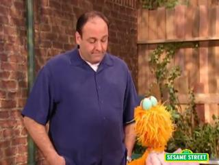 James Gandolfini About Being Scared On Sesame Street view on ebaumsworld.com tube online.