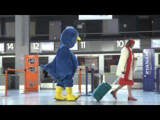 Following Strangers In A Bird Suit Prank view on ebaumsworld.com tube online.