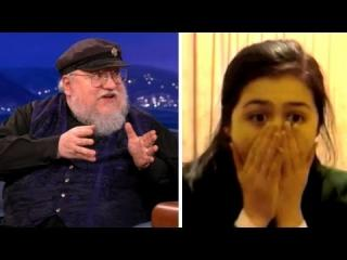 George R. R. Martin Watches Red Wedding Reaction Videos view on ebaumsworld.com tube online.