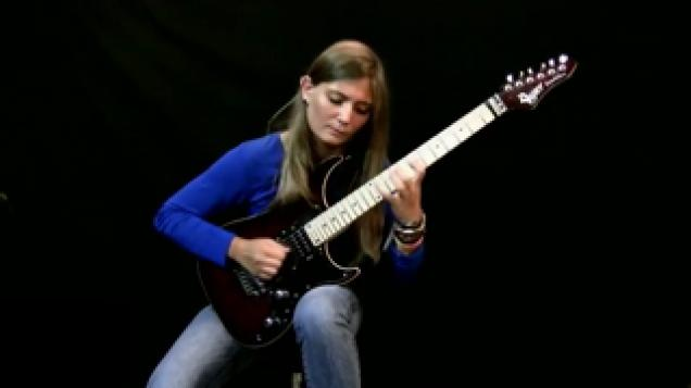 teenage girl shreds through beethoven on electric guitar video ebaum 39 s world. Black Bedroom Furniture Sets. Home Design Ideas
