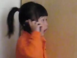 Cute asian girl doesnt want to go to school view on ebaumsworld.com tube online.