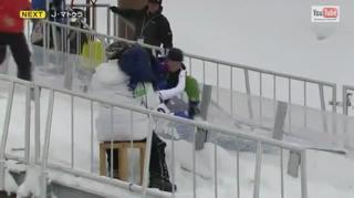 Worst Ski Jump Attempt Ever view on ebaumsworld.com tube online.