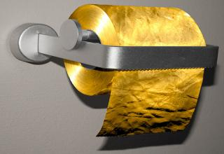 Most Expensive Versions Of Everyday Items Gallery EBaums World - Gold flake toilet paper