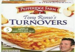 New Pepperidge Farms Tony Romo Turnovers