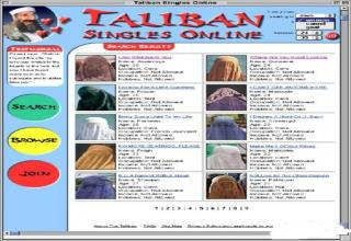Taliban online dating site
