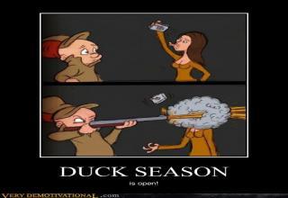 Elmer Fudd Duck Season