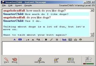 Chat rooms from the 90s