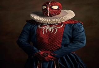 renaissance spider man