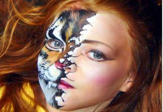 Crazy cool face paint for Halloween - Gallery | eBaum's World