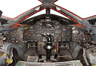 F-117A cockpit