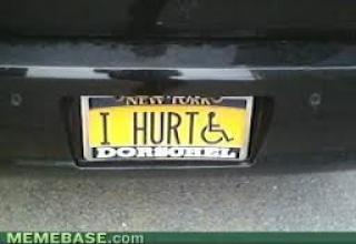 Custom  funny License Plates