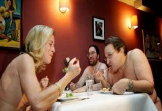 And The Clothing Optional Dining May Be A Little Too Forward