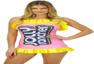 A Sexy Jolly Rancher  sc 1 st  eBaumu0027s World & 20 Halloween Costumes That Have No Business Being u0027Sexyu0027 - Facepalm ...