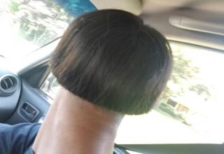 a man with a haircut that makes him look like a mushroom