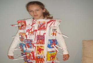 30 puntastic halloween costumes funny gallery ebaums world cereal killer ccuart Images