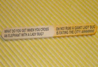 Terrible popsicle stick jokes