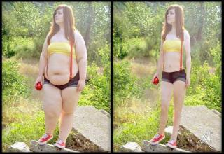 Plus Size Models Made Thin With Photoshop