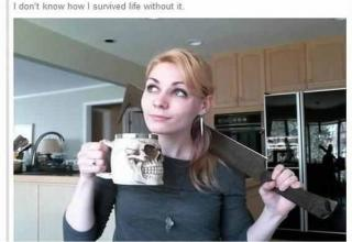 Woman Buys A Much Needed Uruk-Hai Sword