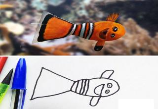 Father Uses Photoshop To Make His Son S Drawings Come To Life