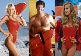 cast of Baywatch from the 90's
