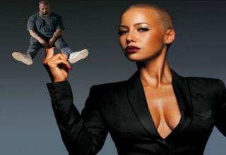 The Internet Reacts To Kanye West Getting Called Out By Amber Rose