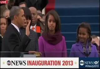 Watch Obama Flub the Presidential Oath for the Second Time