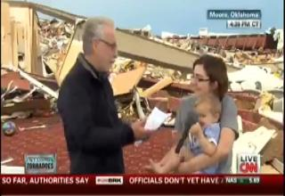 Woman Throws Wolf Blitzer A Curveball